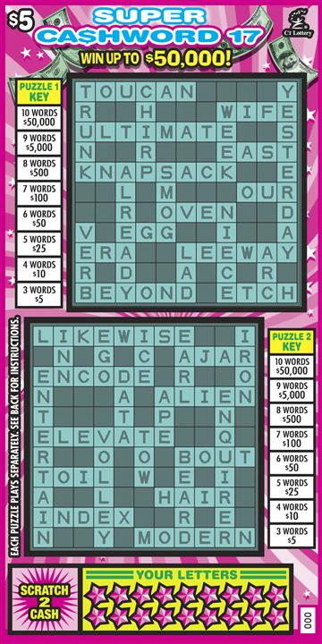 SUPER CASHWORD 17 image