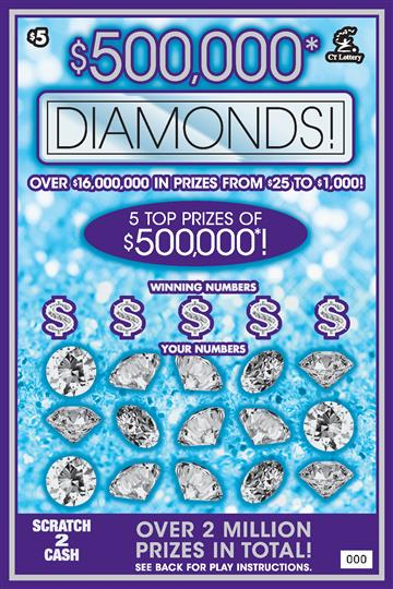 $500,000 DIAMONDS image