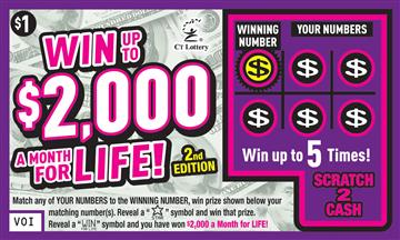 WIN UP TO $2,000 A MONTH FOR LIFE 2ND ED. image