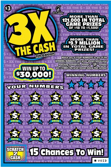 3X THE CASH 7TH EDITION image
