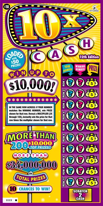 10X CASH 12TH EDITION image