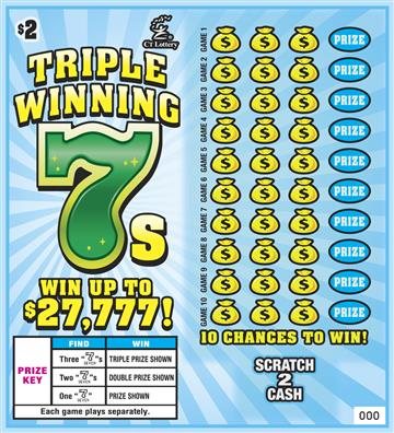 TRIPLE WINNINGS 7S image