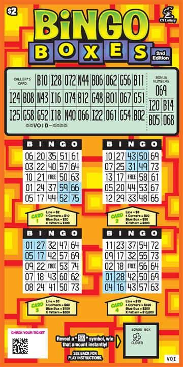 BINGO BOXES 2ND ED. rollover image