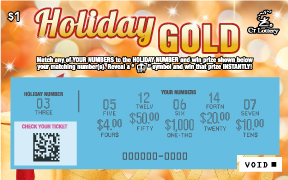 HOLIDAY GOLD rollover image