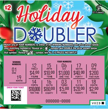 HOLIDAY DOUBLER rollover image