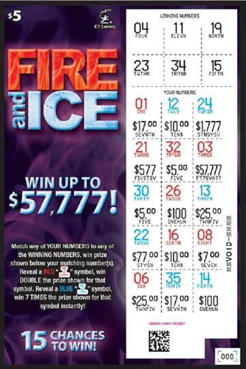 FIRE AND ICE rollover image