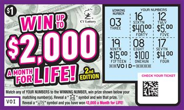 WIN UP TO $2,000 A MONTH FOR LIFE 2ND ED. rollover image