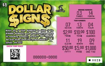 DOLLAR SIGNS rollover image