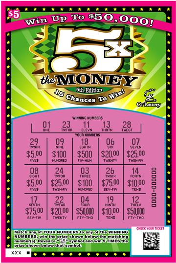 5X THE MONEY 9TH EDITION rollover image