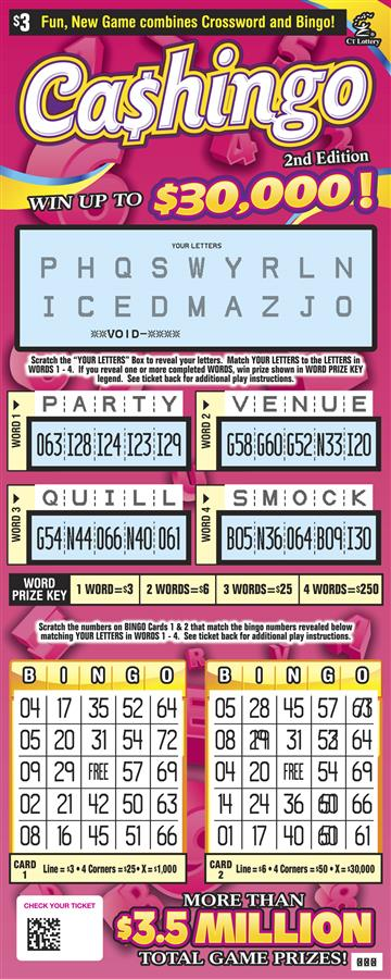 CASHINGO 2ND EDITION rollover image