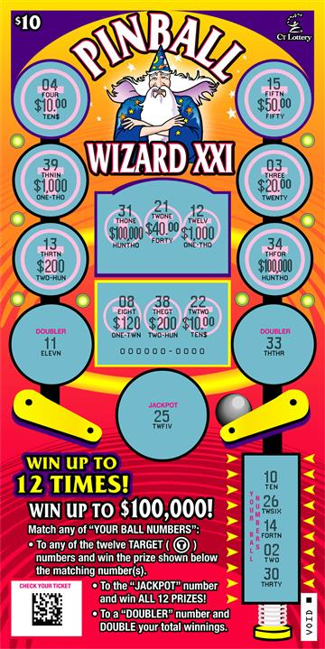 PINBALL WIZARD XXI rollover image