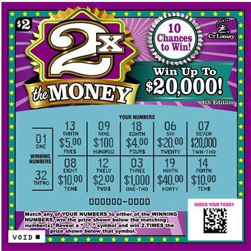 2X THE MONEY 8TH EDITION rollover image
