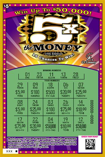 5X THE MONEY 10TH EDITION rollover image