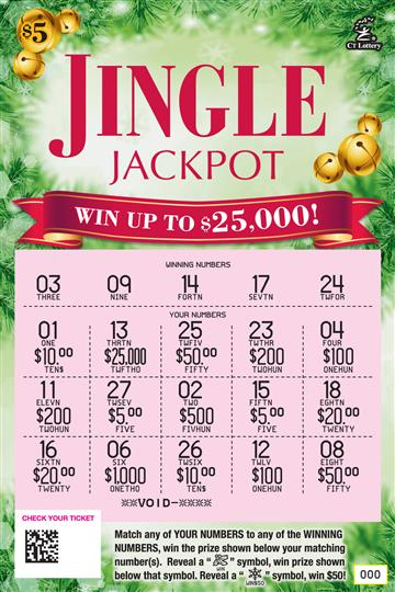 JINGLE JACKPOT rollover image