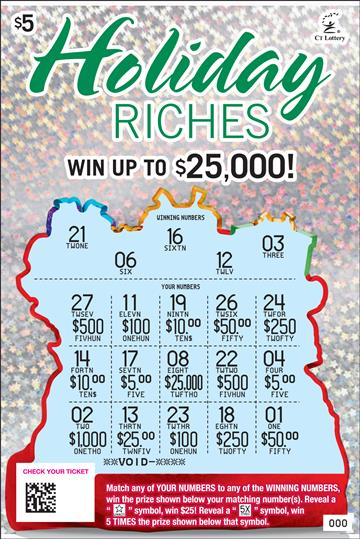 HOLIDAY RICHES rollover image