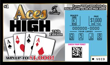 ACES HIGH 25TH EDITION rollover image