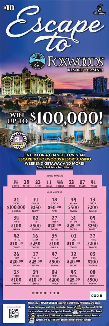 ESCAPE TO FOXWOODS® rollover image