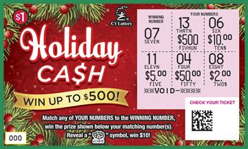 HOLIDAY CASH rollover image