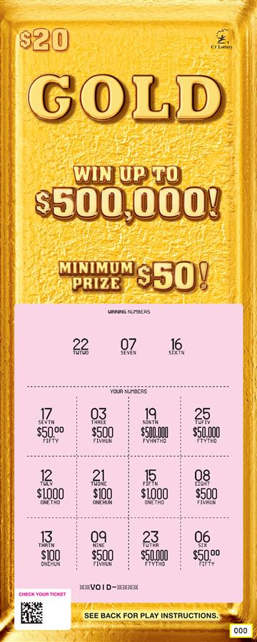 $500,000 GOLD rollover image