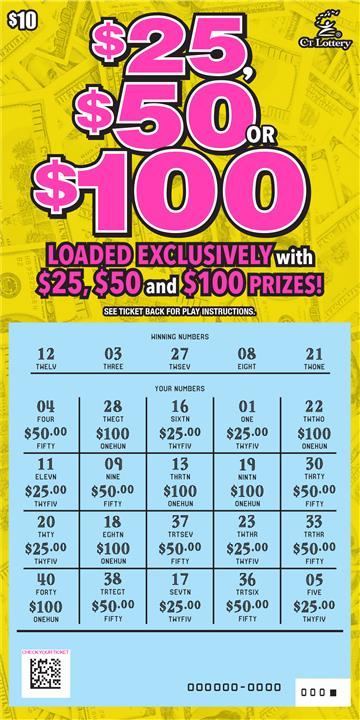 $25, $50 OR $100 rollover image