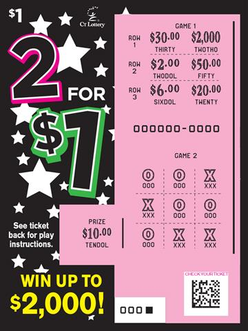 2 for $1 rollover image