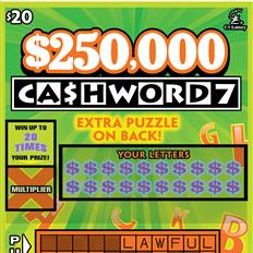 $250,000 Cashword 7 thumb nail